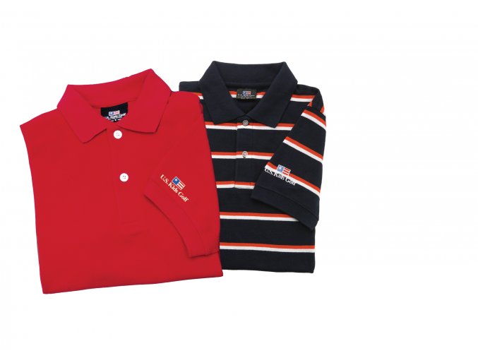 U.S. Kids Golf Shirt (Barva Yellow, Velikost XL)