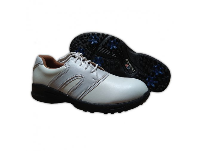 Lavender/White Dual U.S. Kids Golf Swing-Right Shoes (Spikes)