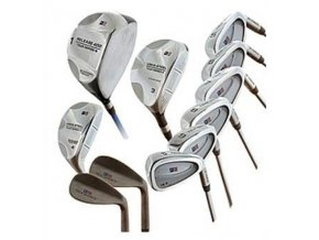 TS60 11 club only Combo Set Incl.: Driver,3W,H,5-PW, SW,GW