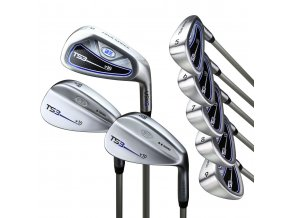57040 TS3 57 8club iron set graph