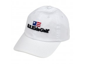 twill cap white front