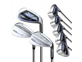 60140 TS3 60 8club iron set steel