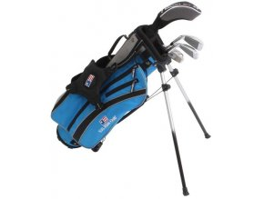 UL45 (114 cm) 4-Club Stand Bag Set, Blue/Grey, All Graphite
