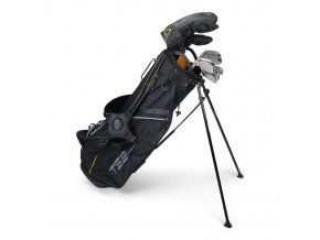 TS3-63 (160cm) 10 Club Stand Set v5 Graphite Shafts Black/Gold Bag