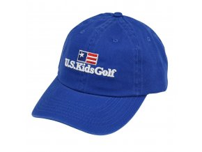 twill cap r blue front