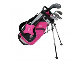 18562 UL48 WT 20 5Club Stand Bag Set pink