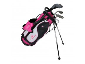 19562 UL51 WT 20 5Club Stand Bag black white pink