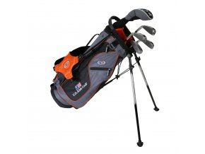 19560 UL51 WT 20 5Club Stand Bag grey orange