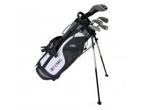 24561 UL57 WT 15 5Club Stand Bag black white grey