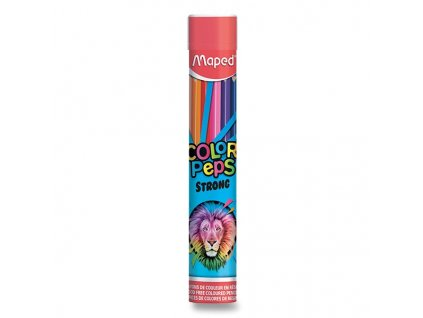 Pastelky Maped Color'Peps Strong - 12 barev