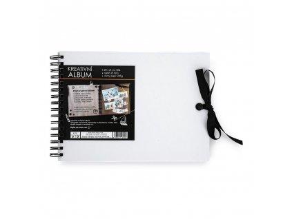 Kreativní album 30 x 21,5 cm bílé