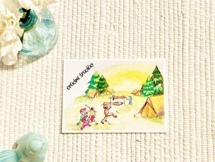 Pohlednice - Z tábora