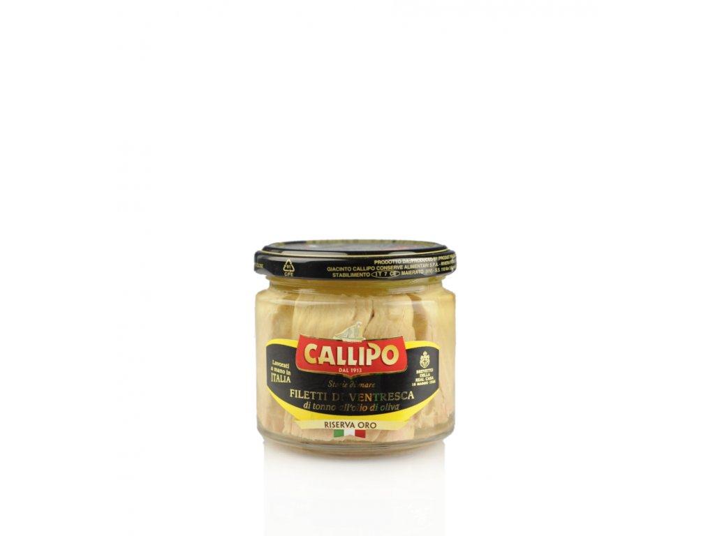 Filety z tuňáka ventresca 150g Callipo web ořez posun