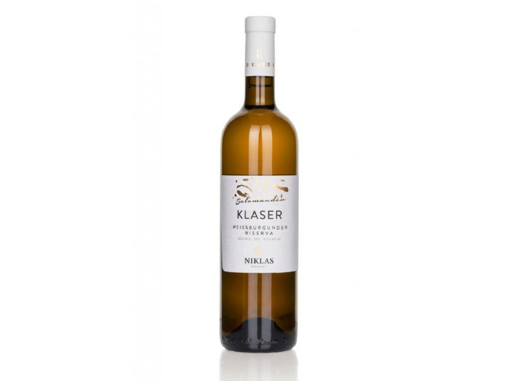 Pinot Bianco Klaser Niklas e ze stránky dodavatele odraz