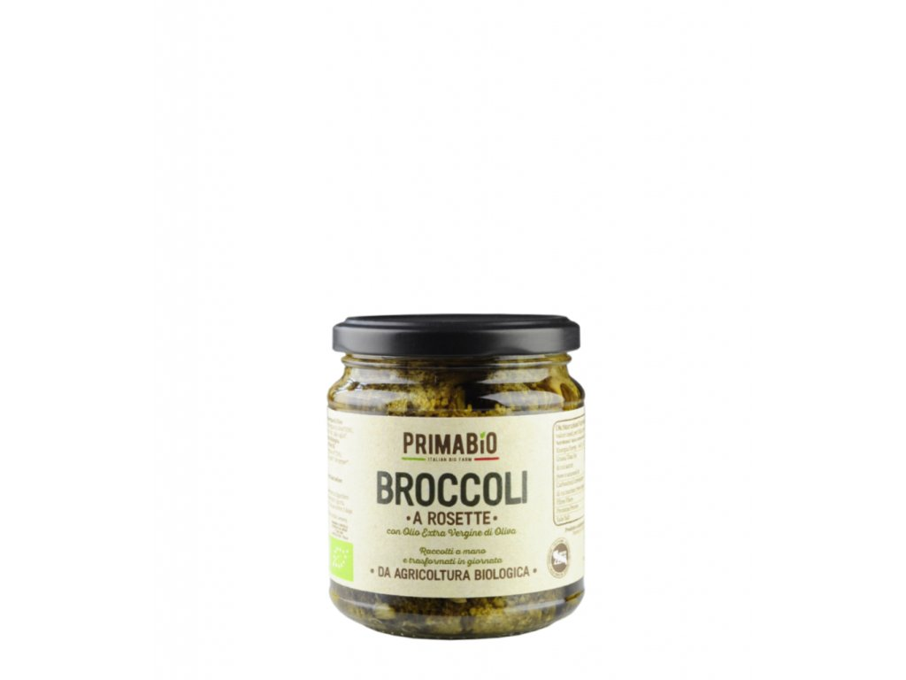 Brokolice v oleji Prima Bio e ještě menší