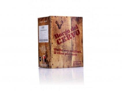 1395 cabernet igt bag in box 5l borgo del cervo