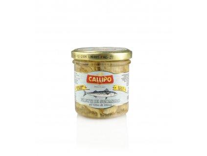 Filety z makrely v oliv. oleji 150g Callipo ořez web