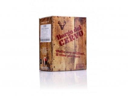 1224 pinot grigio igt bag in box 5l borgo del cervo