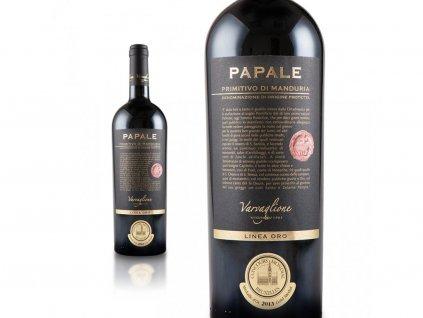 1119 primitivo di manduria dop papale linea oro vigne e vini 2015