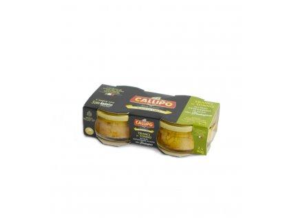 1551 1 tunak yellowfinn v olivovem oleji riserva oro bio 2x80g callipo