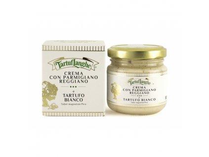 crema con parmigiano reggiano dop e tartufo bianco 90g foto od výrobce