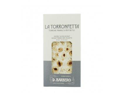 torrone s lískovými ořechy Barbero e
