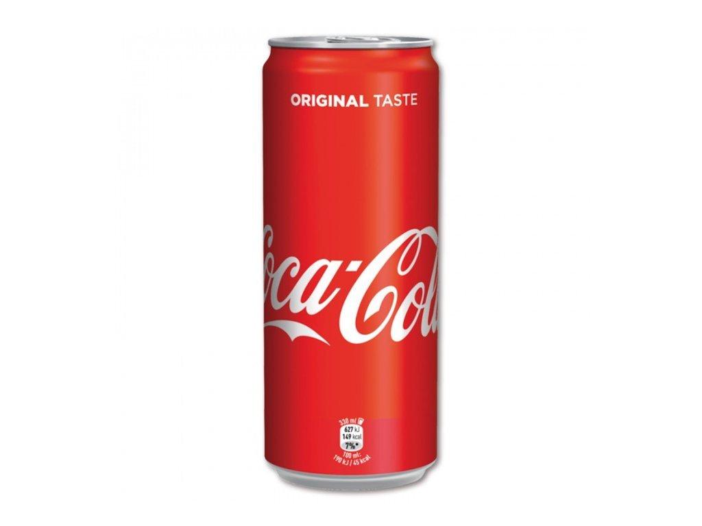 4683 coca cola s cukrem plech 330 ml