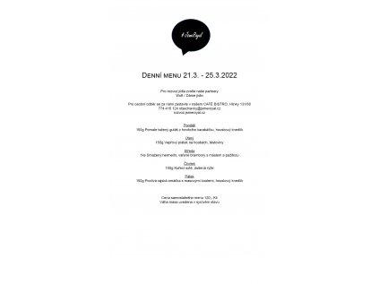 denní menu 18.10. 22.10.2021 bez salátu