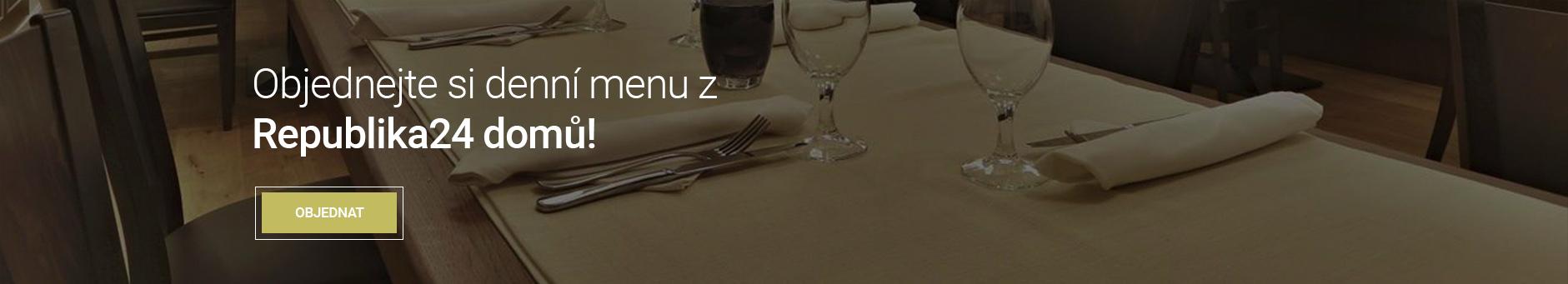 Denní menu z Republika 24 domů
