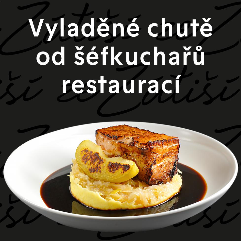 Vyladěné chutě od šéfkuchařů restaurací