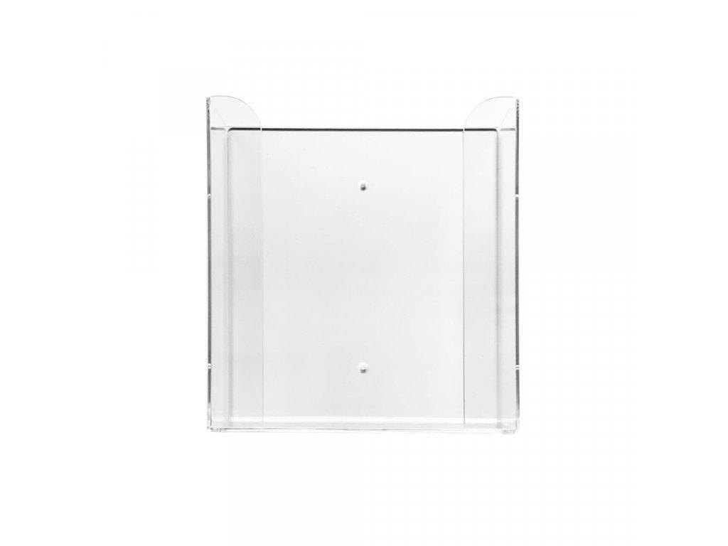 Zásobník na 2 krabičky rukavic 1 ks, akrylát, transparentní