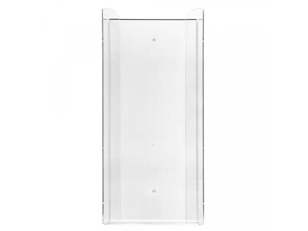 Zásobník na 4 krabičky rukavic 1 ks, akrylát, transparentní