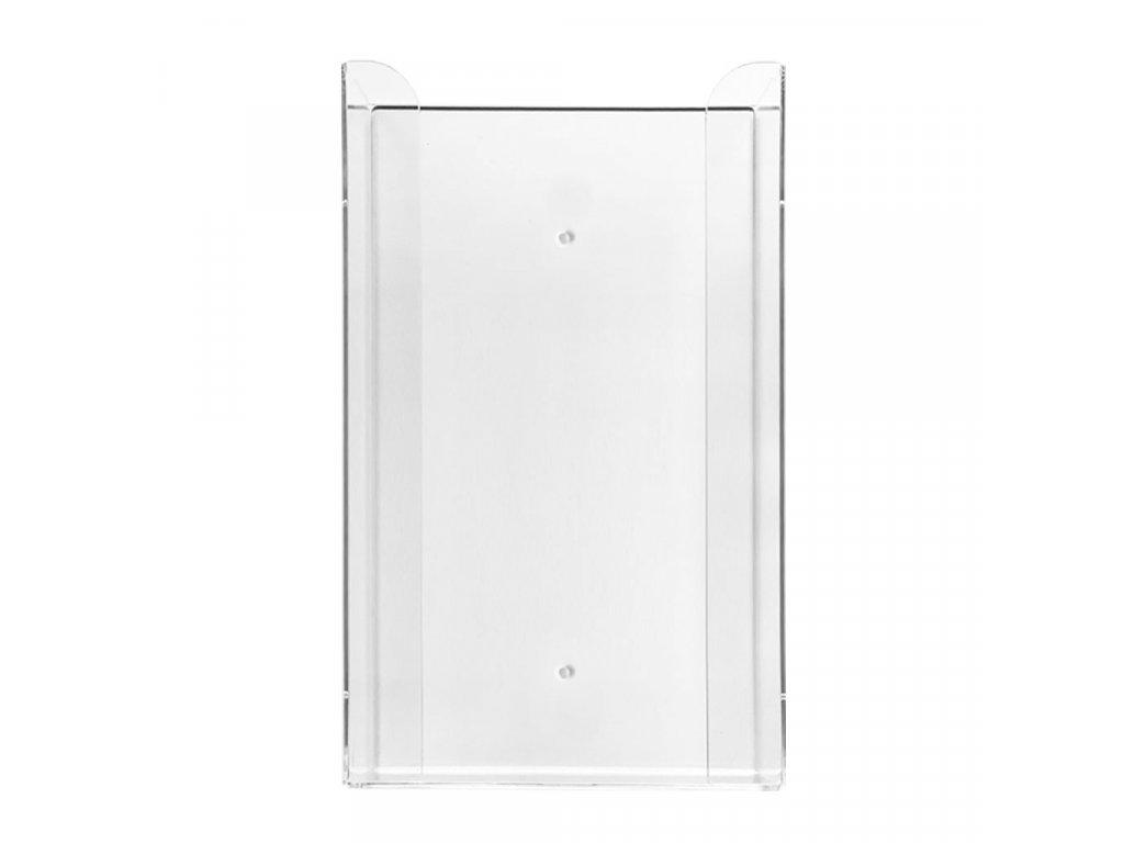 Zásobník na 3 krabičky rukavic 1 ks, akrylát, transparentní