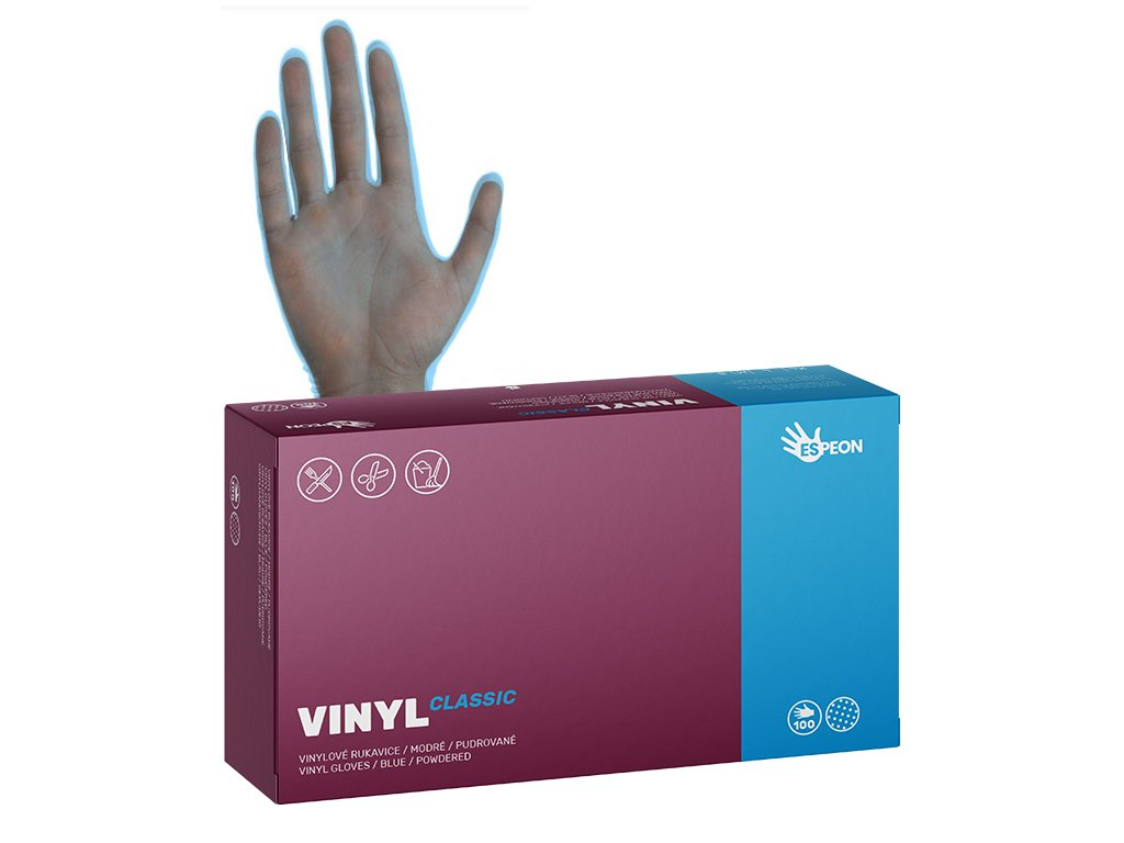 ikona web vinyl pudr modre