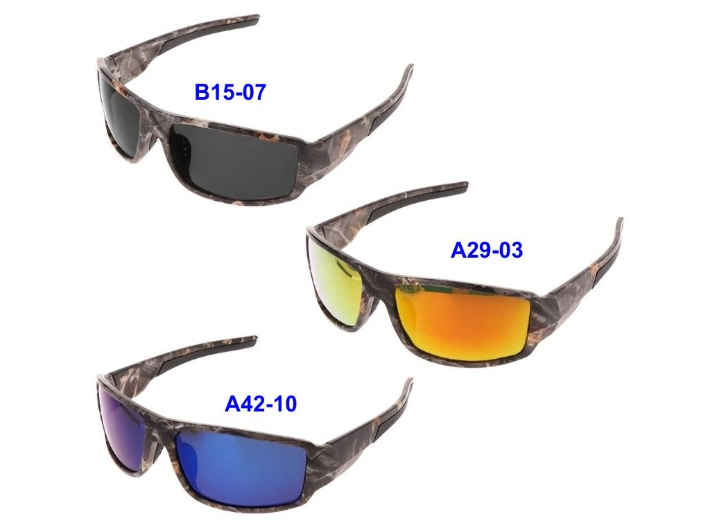 Brýle polarizační New Camouflage Sport Polarized Fishing