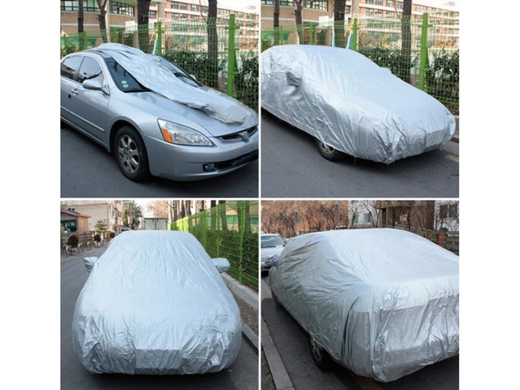 Ochranná plachta na auto Luxury Car Cover - BR1067