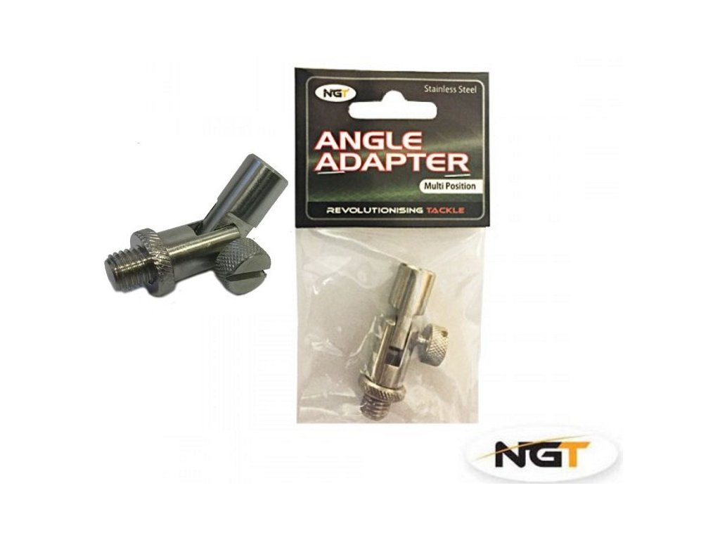 NGT Kloubový Adaptér Stainless Steel Angle Adapter