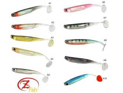 Zfish Swing Shad 7,5cm - balení 5ks