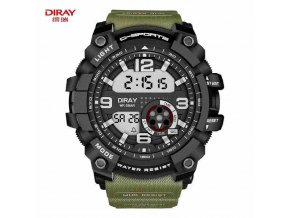 Hodinky Diray Sports Watch Green 03