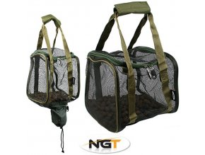 Taška na boilie NGT Square Boilie with Hook Bait Pouch