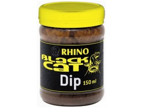 Rhino Silure Black Cat 150ml - dip k sumčím peletám