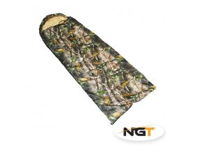 >NGT Spací pytel Camo Sleeping Bag do -5 °C