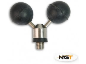 "NGT Rohatinka Stainless Steel Ball Rest ""Mickey Mouse"""