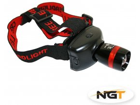 NGT Čelová lampa LED Headlamp Q5 CREE