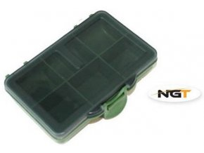 Krabička NGT Terminal Tackle Box 6 Way - 6 přihrádek