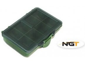 Krabička NGT Terminal Tackle Box 8 Way - 8 přihrádek