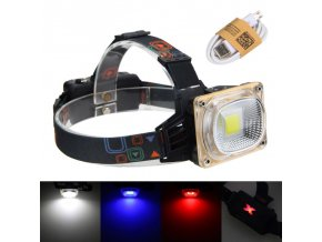 1000 Lumens White Blue Red LED Headlamp Head Lamp 10 W Adjustable Head Light Hunting Hiking 1