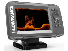 Lowrance HOOK2 5x SplitShot GPS HDI product right facing 8 17 20825