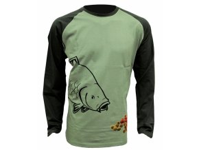 Zfish Tričko Boilie T-Shirt Long Sleeve