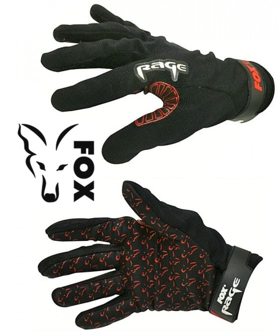 FOX rukavice Race Power Gloves Grip Velikost: M